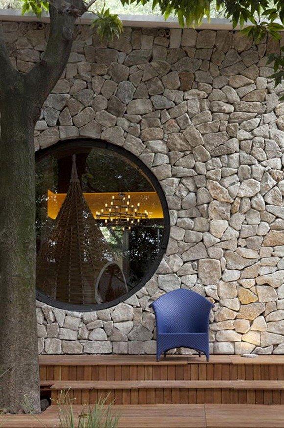 巴西圆形书架,最理想的读书场所