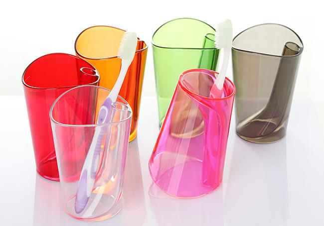 二合一七彩创意水杯