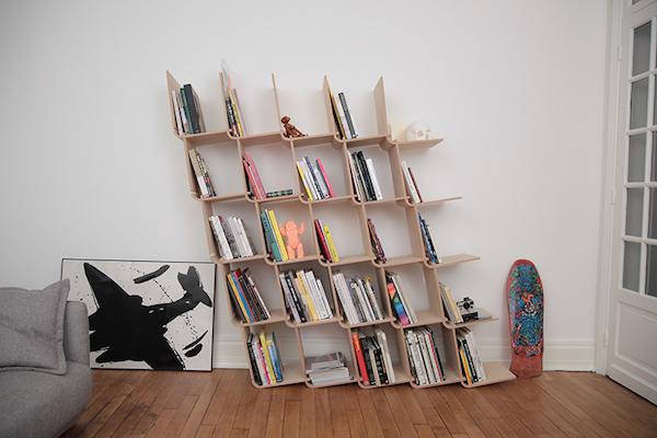 模块化可拆卸L形创意书架「L shelf」