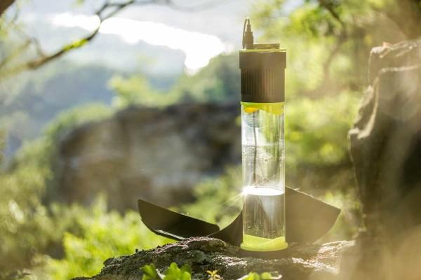 空气集水瓶Fontus,喝空气?