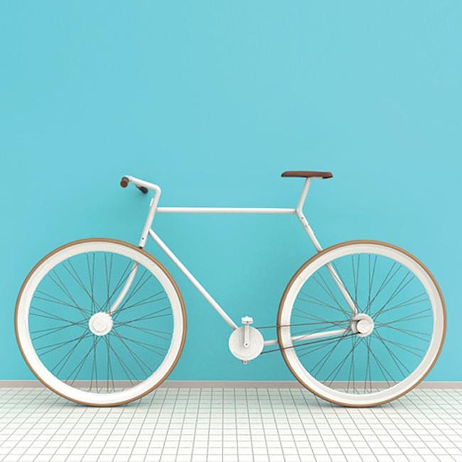 打包带走的概念便携自行车Bike In A Bag