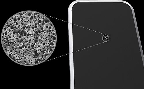 设计师Radhika Seth设计的仿生iPad吸附支架
