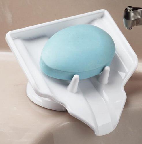 时刻保持香皂干爽的创意香皂盒