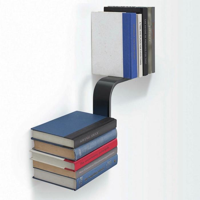 加拿大UMBRA L形隐形书架