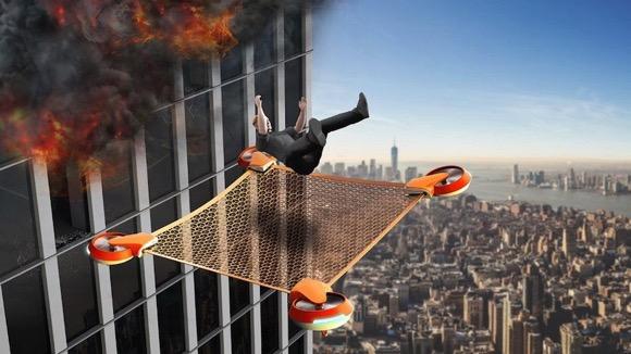 高楼救援无人机