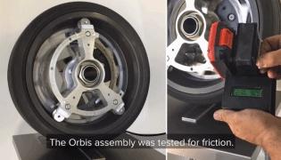 轮内马达车轮 Ring-Drive,装上后瞬间变混合动力
