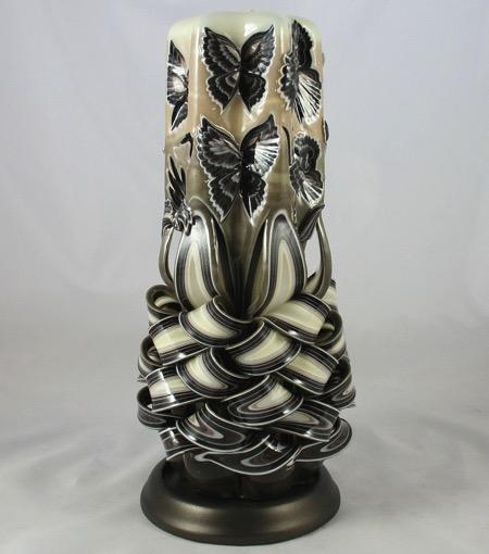 蜡烛雕刻艺术