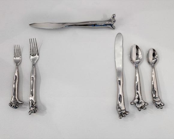 创意手爪餐具