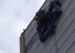 高楼层火灾专用逃生气囊,据称有了它逃生成功率100%