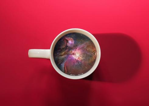 咖啡杯里的另类艺术