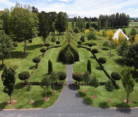 新西兰绿树教堂