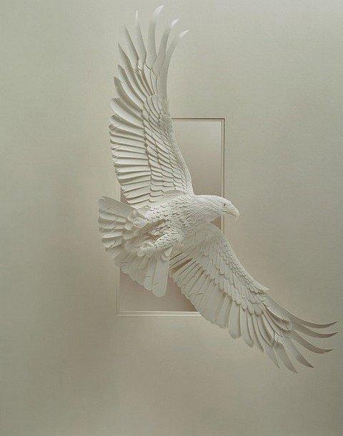 动物立体纸雕艺术