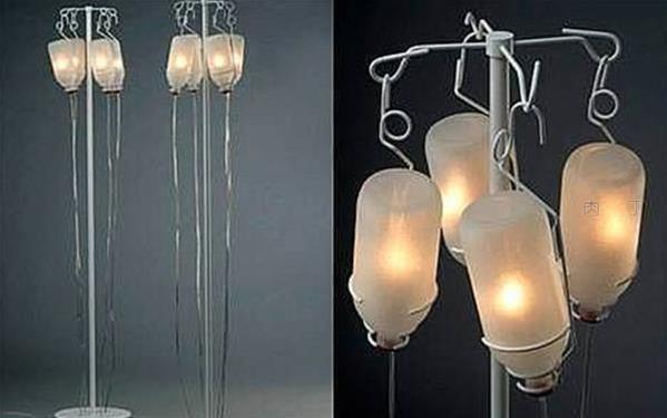 吊瓶落地灯等几款有趣的创意灯具设计作品