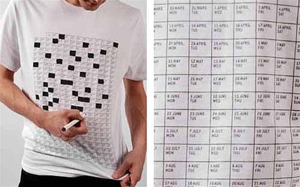 历年T恤创意设计 这才叫T恤你那只能叫汗衫!