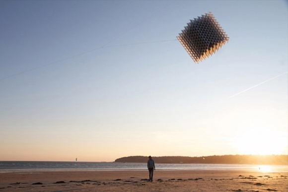 室内风筝和3D立体风筝的创意设计