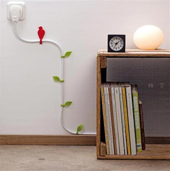 创意电线收纳 解决家里那堆乱糟糟电线的方案