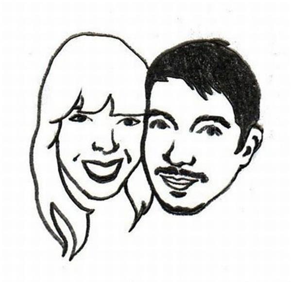 个性生日礼物-情侣印章和照片印章设计