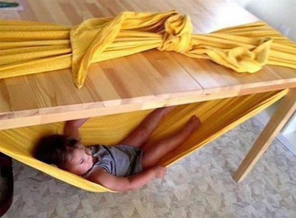 宝贝创意吊床