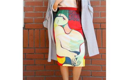 超有文艺范的名画裙子