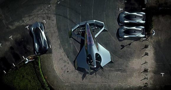 阿斯顿马丁推出的个人飞行器