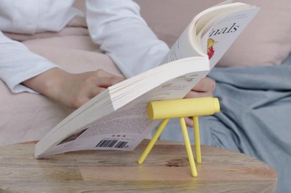 """便携轻巧的书本""""靠枕"""""""