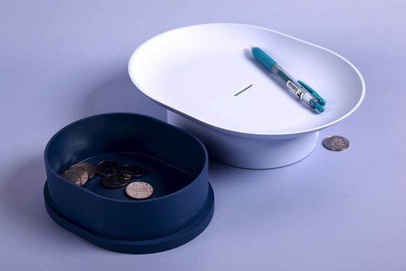 是置物盘也是存钱罐