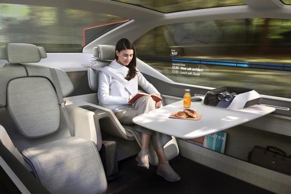 Volvo无人驾驶概念汽车