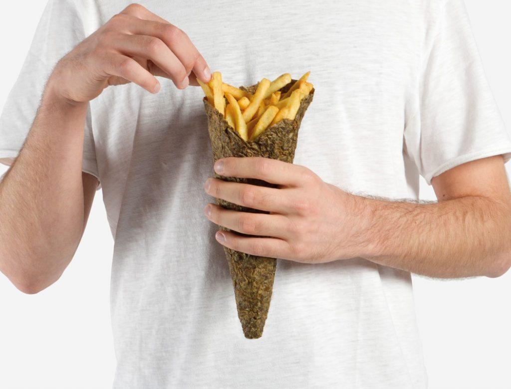 绿色环保的马铃薯包装