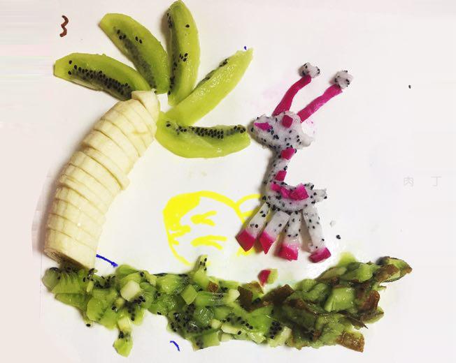 简单花样水果拼盘图片 水果风景的做法