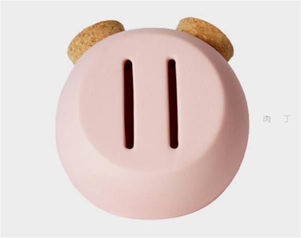 猥亵的存钱罐和头骨存钱罐和猪鼻子存钱罐创意设计