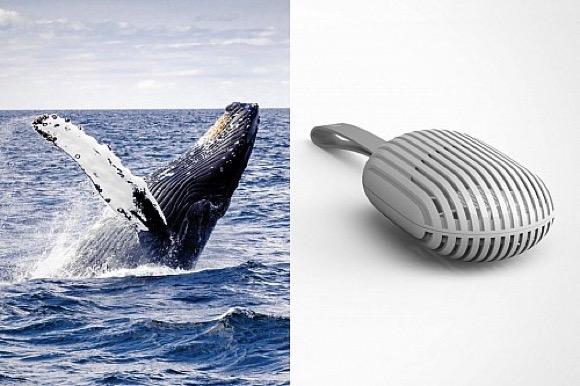模仿鲸鱼造型的小风扇
