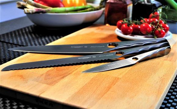 无缝一体厨房刀