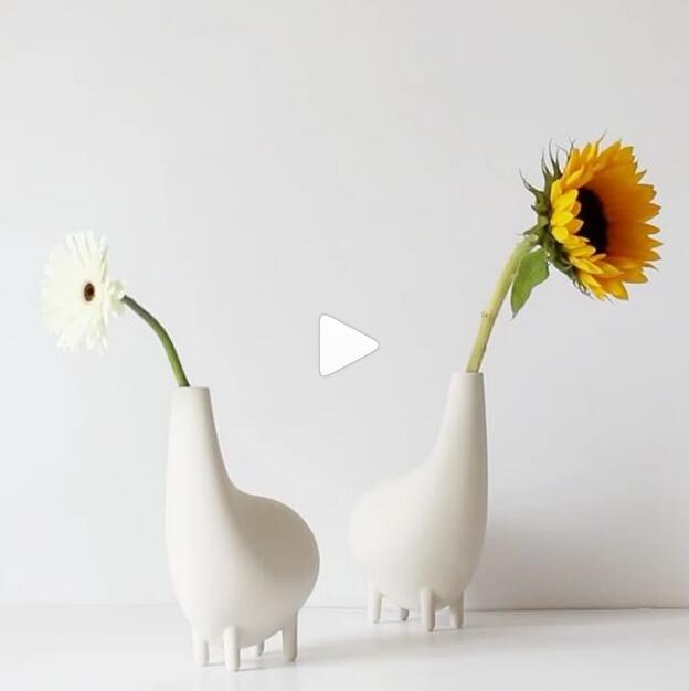 不规则的创意花瓶