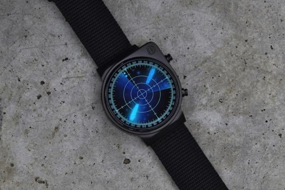 雷达指针手表