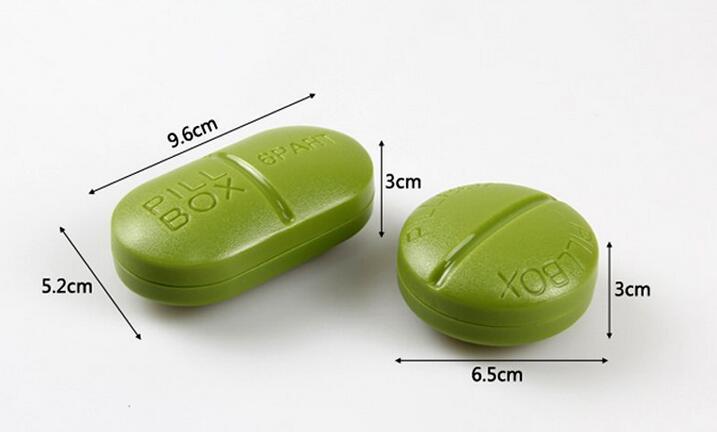 表里如一的药丸型药盒