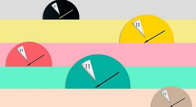 没有时针的钟表