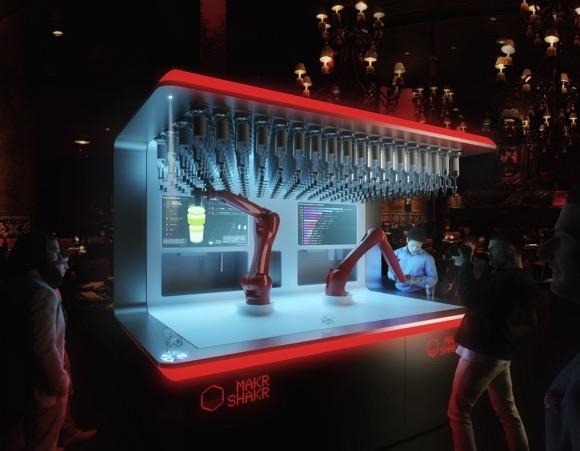 调酒机器人