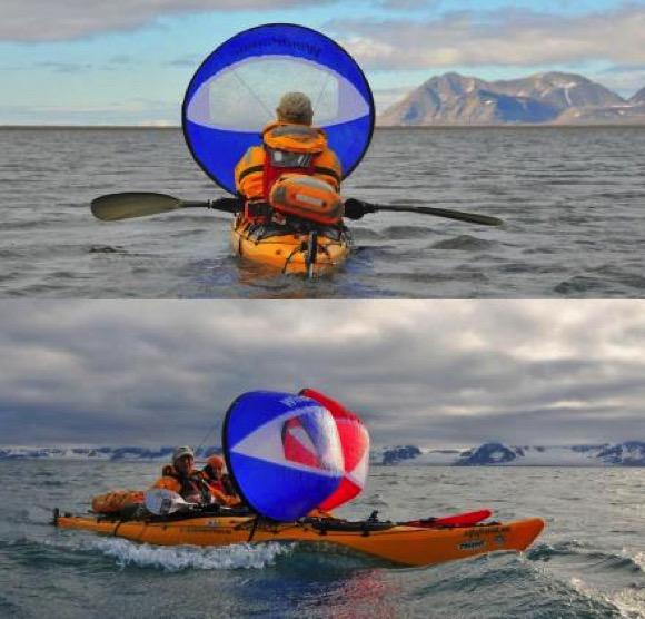 让划船省力便携风帆