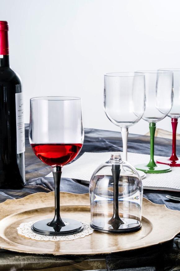 可拆卸的红酒杯