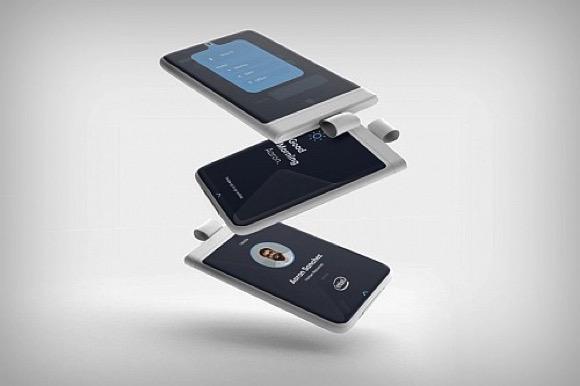 工牌式手机