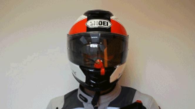 WiPEY可拆卸摩托车头盔雨刮