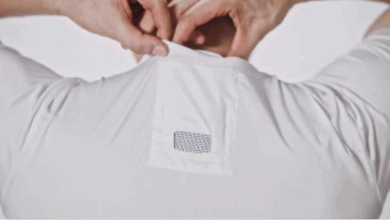 索尼推出T恤外挂空调 戴上后直降13度