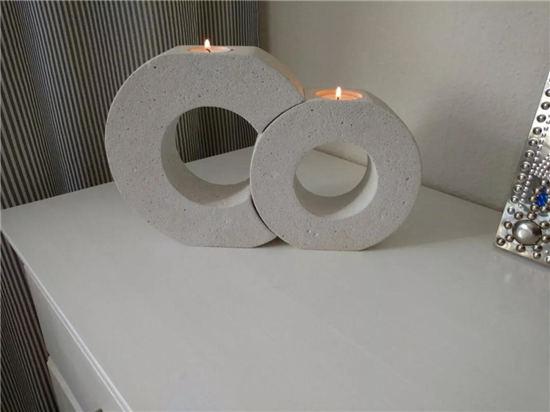 用水泥做成的家具,简单又实用