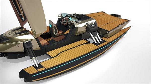 霸气侧漏的敞篷概念船