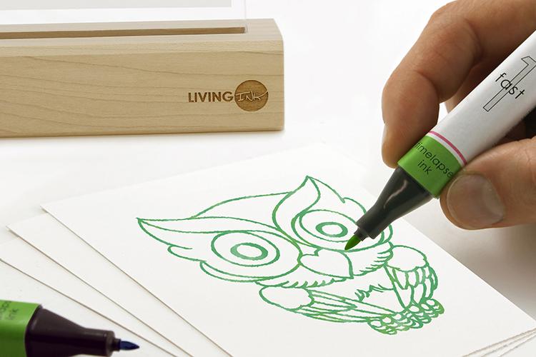 Living Ink 隐形的神奇画笔