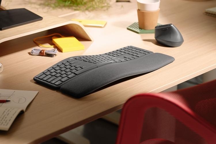 Logitech Ergo K860:微软在人体工学键盘领域的重大突破