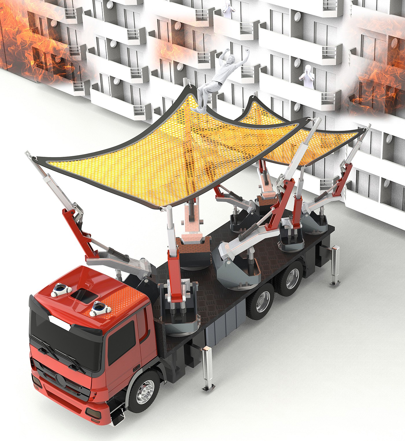 Catching 可变救援重型车辆设计