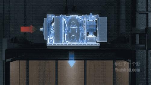电梯加装了这个盒子就变成火灾救生通道