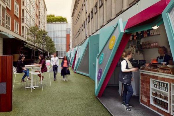 全球首条「智能街道」亮相伦敦:边逛街边发电