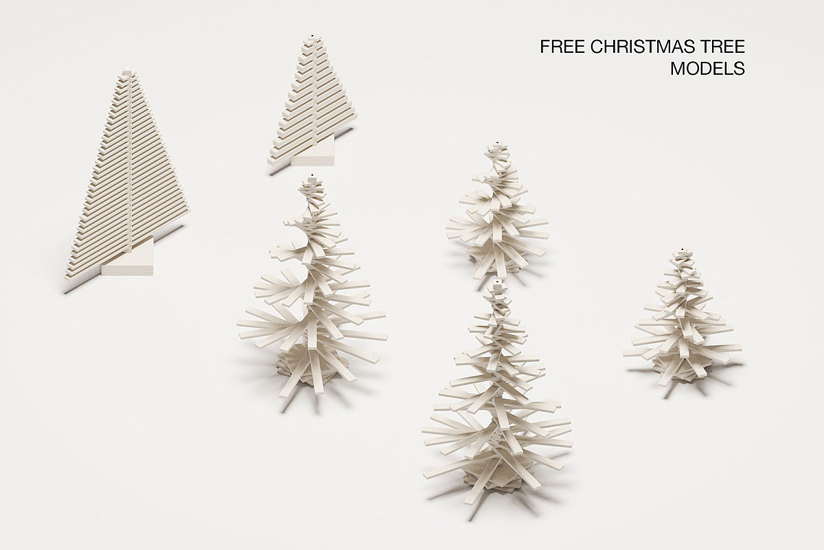 简约圣诞树,今年圣诞有不一样的过法!